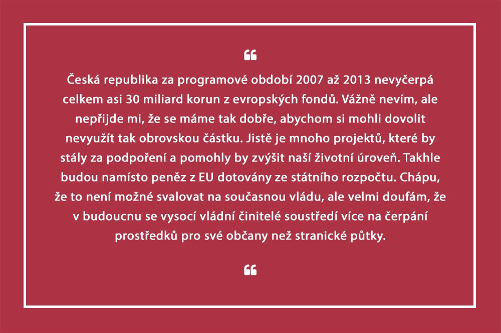 Aktuálně.cz Česko nevyčerpá z evropských fondů 30 miliard korun, spočítala Šlechtová