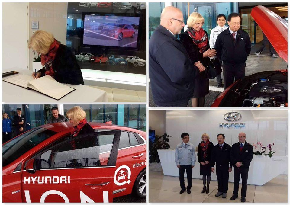Návštěva firmy Hyundai v Nošovicích