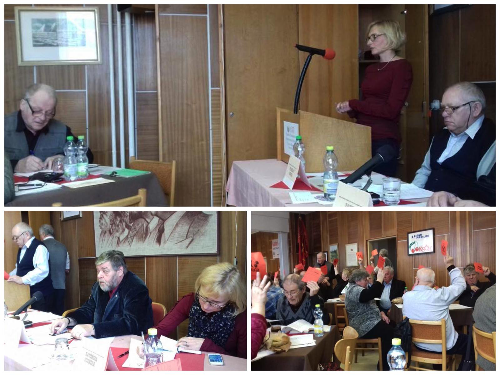 Okresní konference v Bruntálu