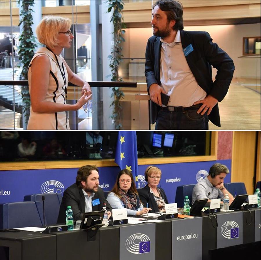 Luboš Bláha v Evropském parlamentu